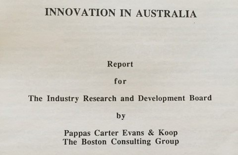 Innovation in Australia