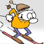 Ski like no one is watching!